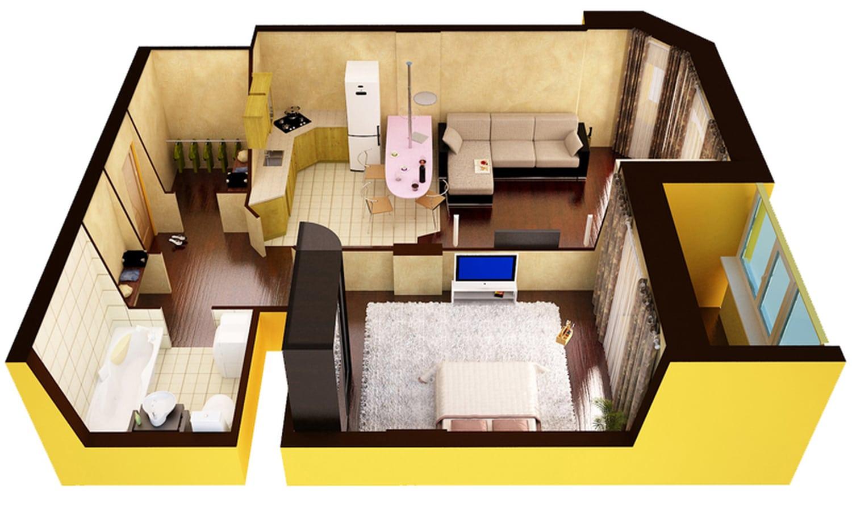 Продажа двухкомнатных квартир
