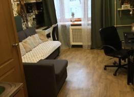 1-комнатная квартира, 19 м²