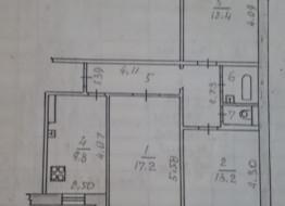 1-комнатная квартира, 48 м²