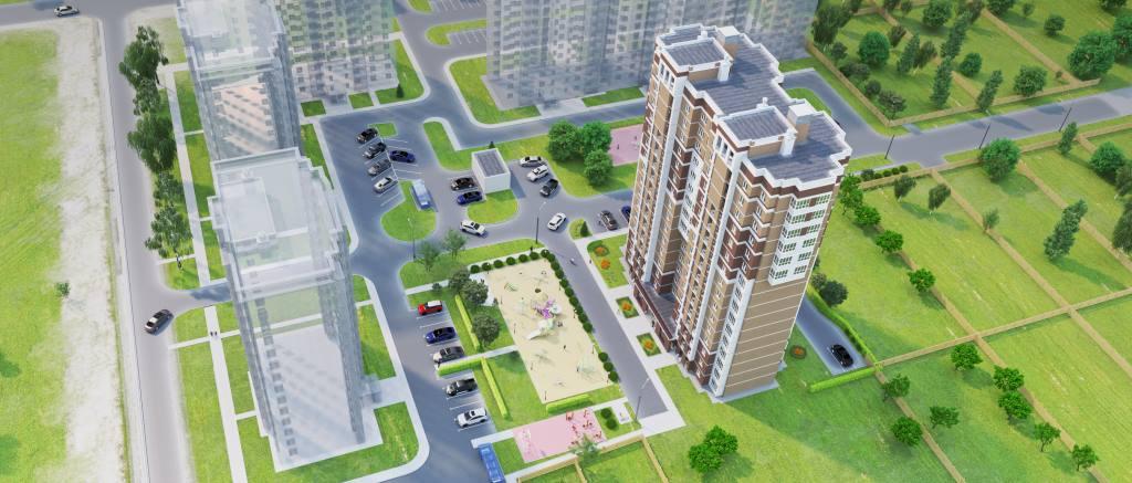 В Казани в пос. Салмачи планируется высотная застройка выше 20 этажей