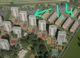 1-комнатная квартира, 31.51 м²