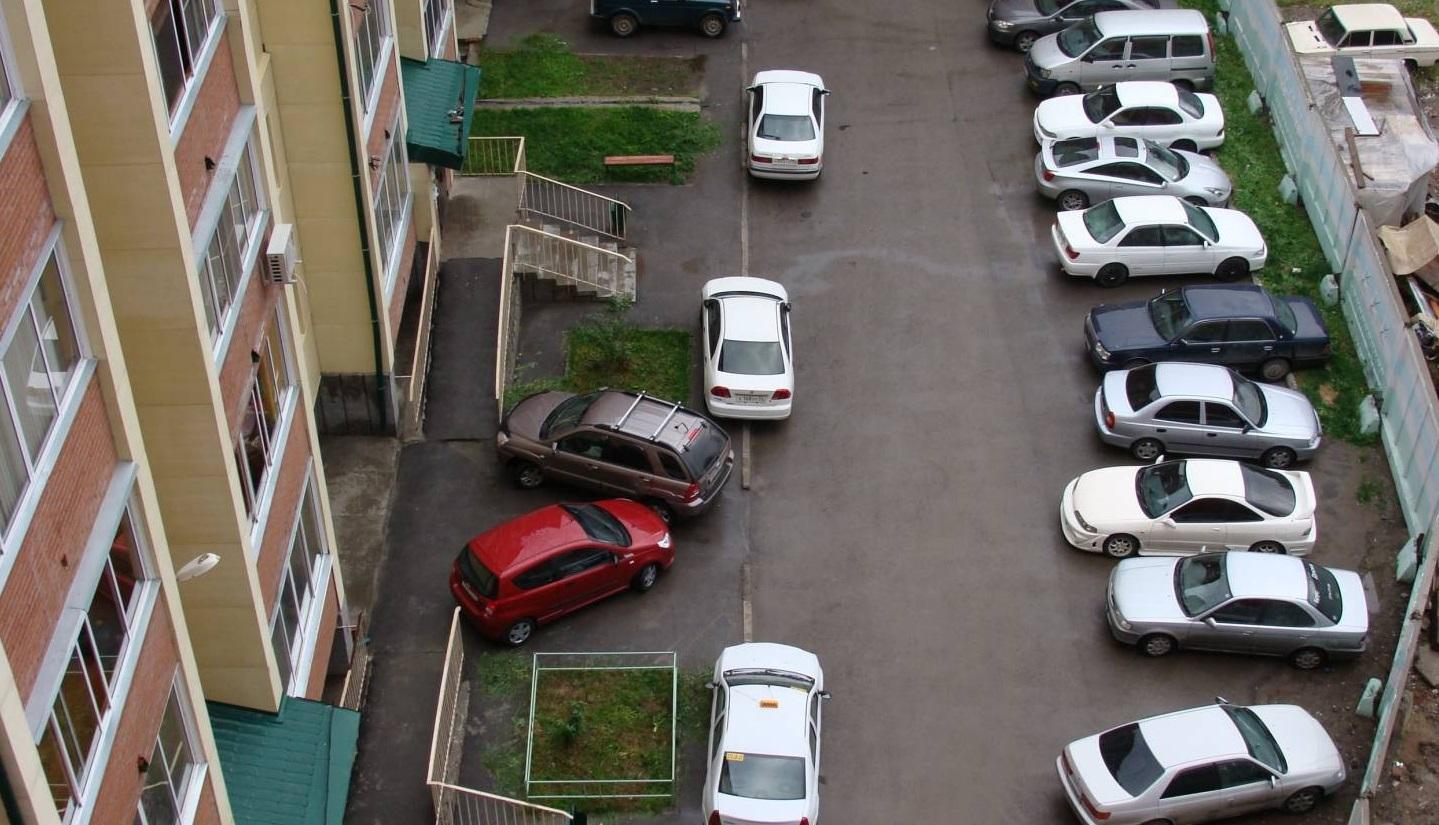 Где ставить машину в городе?