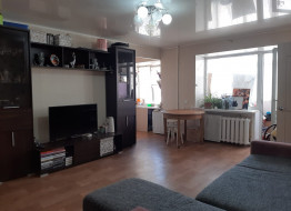 3-комнатная квартира, 56.5 м²
