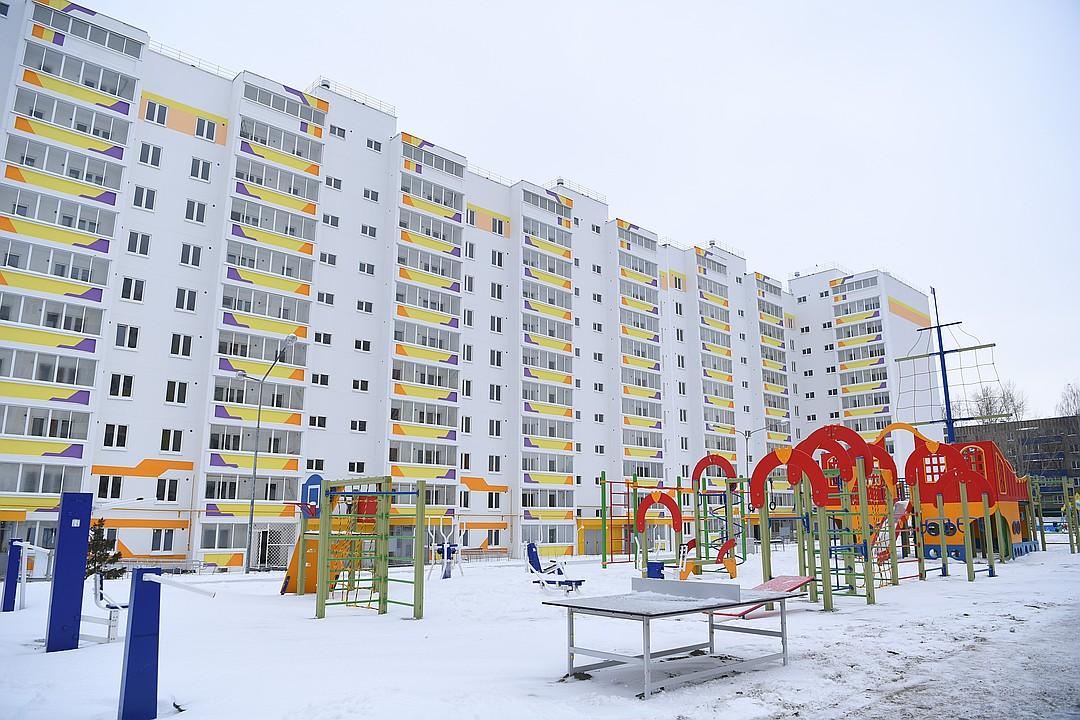 В этом году в Татарстане ввели в строй 126 домов по соципотеке