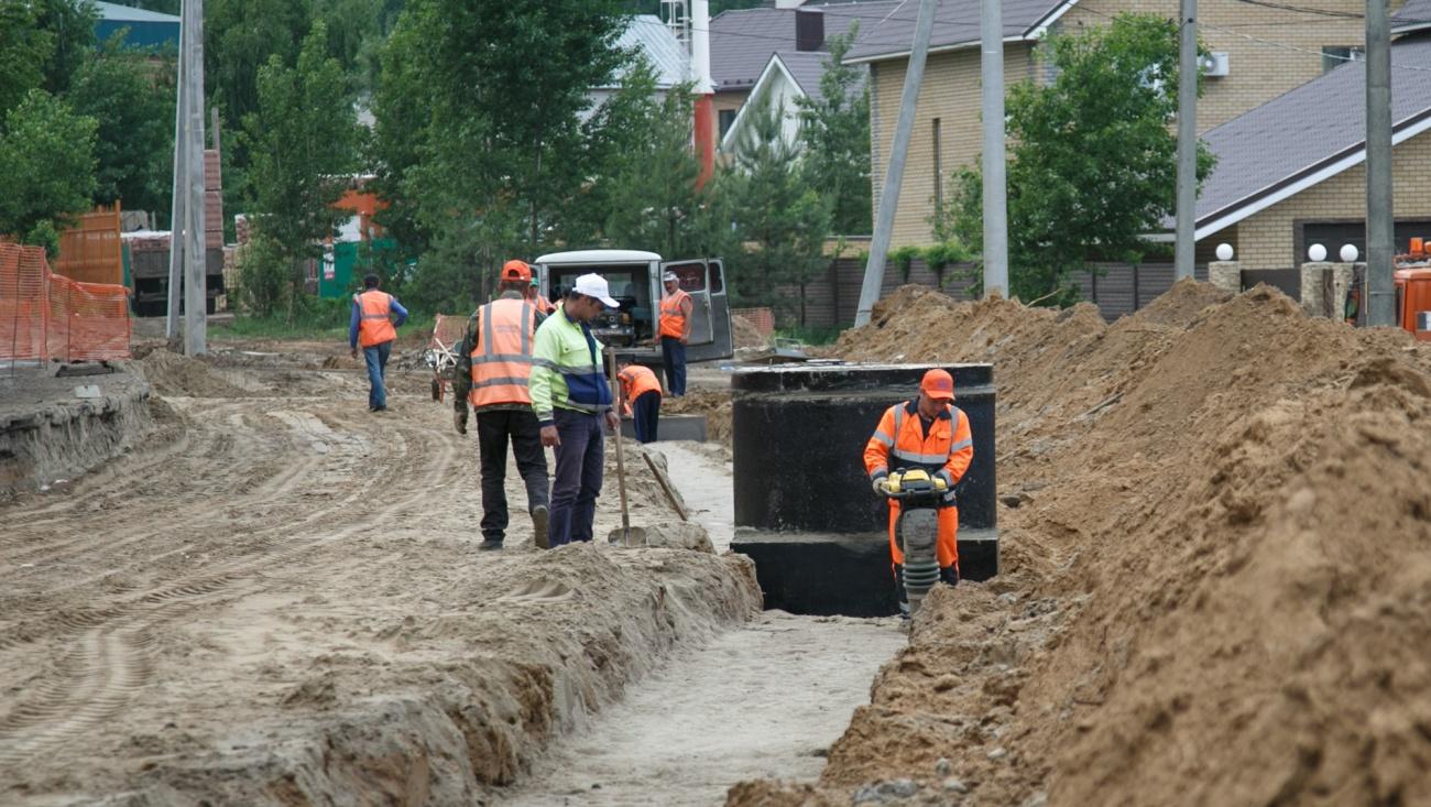 Первый этап ремонта ведущей к Салмачам дороги в Казани завершат к сентябрю